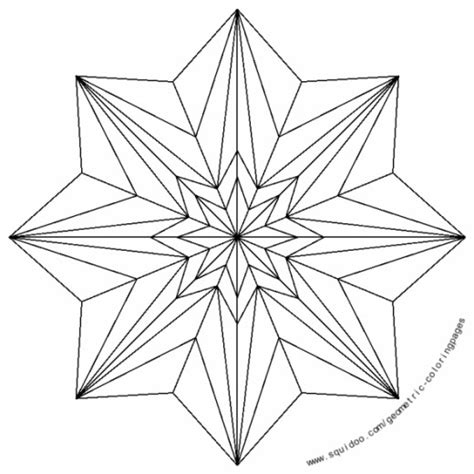 star designs coloring pages geometric coloring pages hubpages