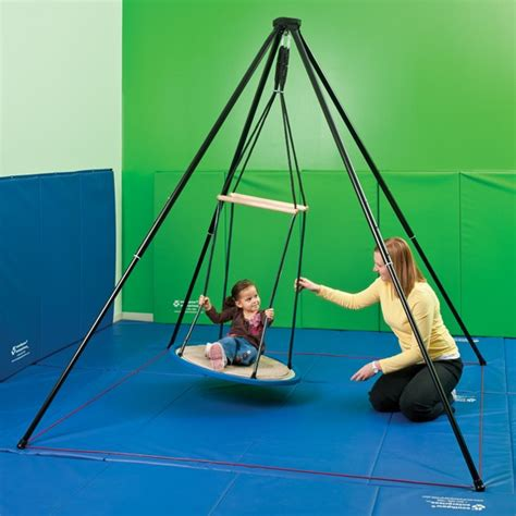 southpaw swing itinerant support frame sensory integration southpaw