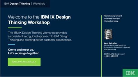 design thinking ibm ibm design thinking case story