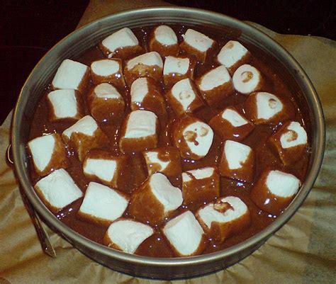kuchen mit cola cola kuchen mit marshmellows rezept mit bild akinome