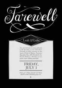 Farewell Party Invitation Farewell Invite Template Cloveranddot Com
