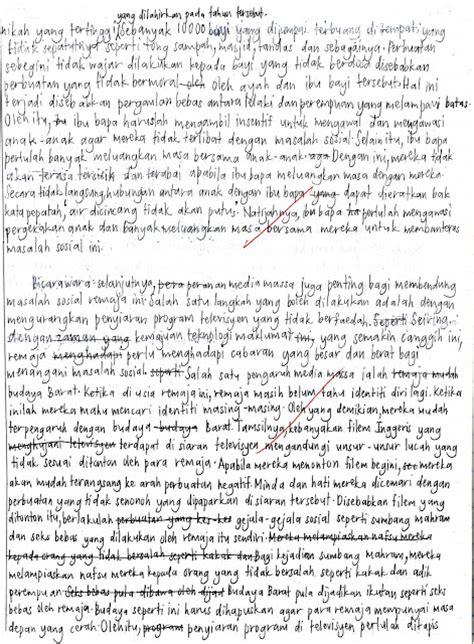 contoh ayat majmuk tingkatan 3 gontoh