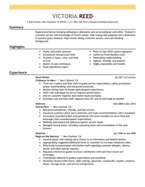 Resume Template Exles by Sle Resume Templates 2018 Svoboda2