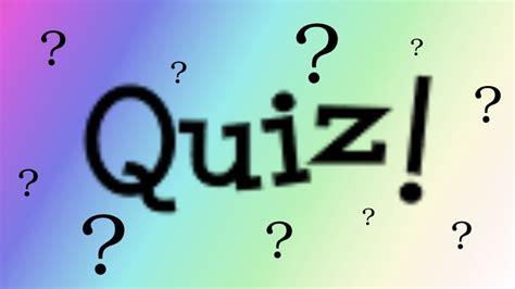 quiz following signs