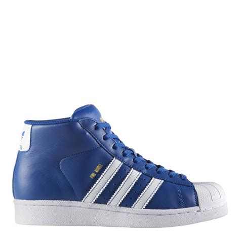 model shoes adidas big originals pro model shoes blue by3731