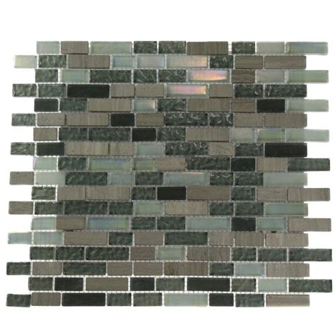 splashback tile galaxy blend brick pattern 12 in x 12 in