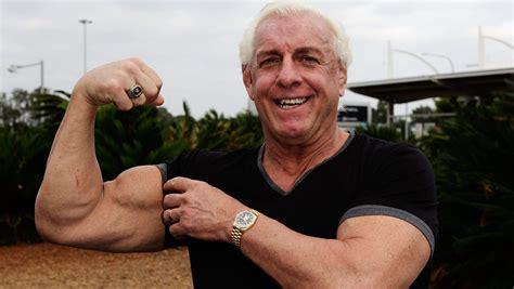 ric flair watch wwe legend ric flair deadlifts 400 pounds heavy com