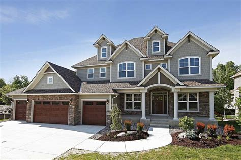 House Plans With 4 Car Garage | storybook house plan with 4 car garage 73343hs architectural designs house plans