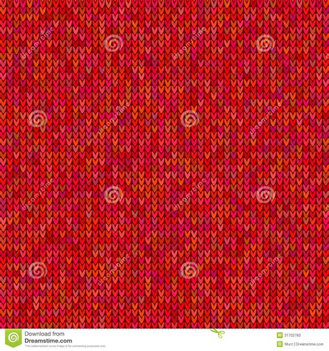 red pattern vector red knitted sweater pattern stock vector image 31702783