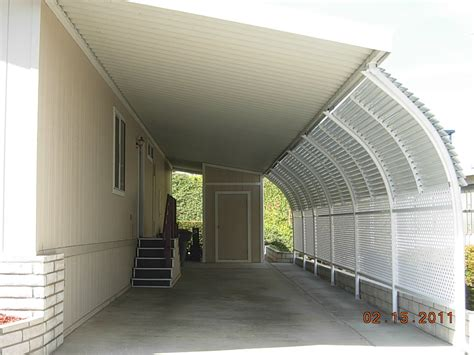 mobile home awning supports image gallery mobile home carport supports