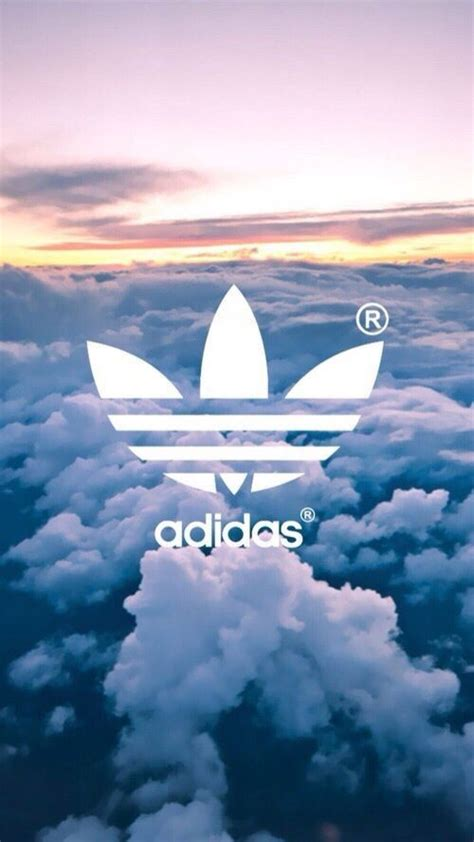 aesthetic adidas wallpaper adidas clouds tumblr wallpaper lockscreen image