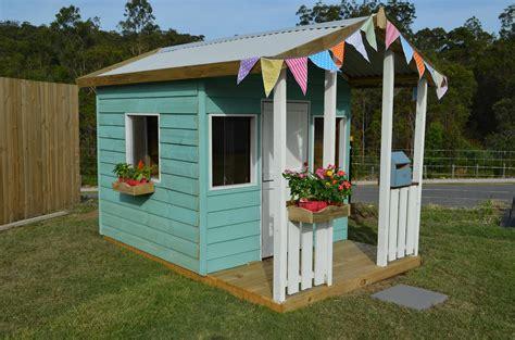 backyard cubby house cubby house paint scheme s design tips cubby houses