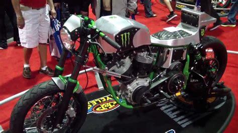 Headl Caferacer Harley Shovel Cafe Racer Motorcycle