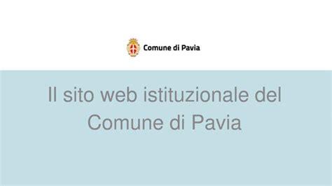www comune di pavia on line il nuovo sito comune di pavia