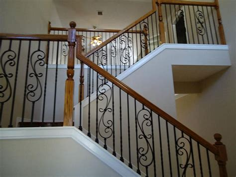 wrought iron and wood banisters 66 best images about stairs on pinterest wrought iron