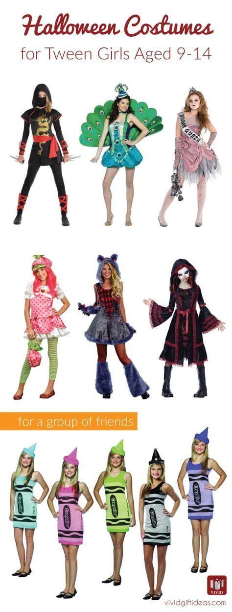 halloween costumes  tween girls aged   halloween