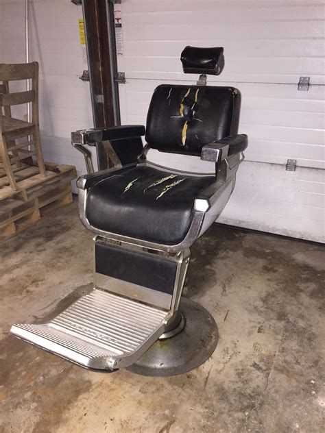 antique belmont barber chair parts belmont vintage barber chair