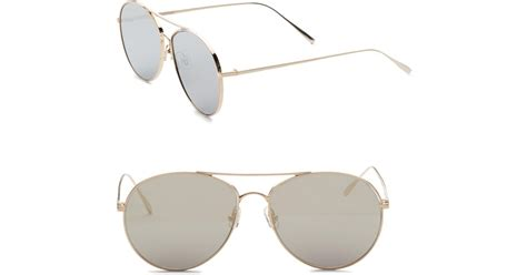 Sunglasses Gentle Hexa Aviator Tosca lyst gentle ranny ring 57mm aviator sunglasses in metallic