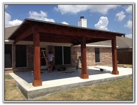 Attached Patio Cover Plans by Attached Patio Cover Carport Patios Home Furniture