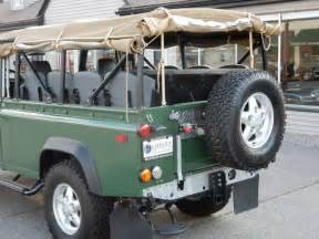 land rover defender convertible for sale 1994 land rover defender 110 convertible for sale photos