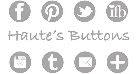 tumblr themes with facebook and twitter buttons facebook etsy pinterest instagram twitter recipes dishmaps