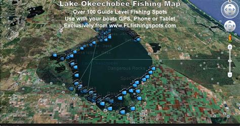 used bass boats okeechobee florida lake okeechobee fishing map florida fishing maps for gps