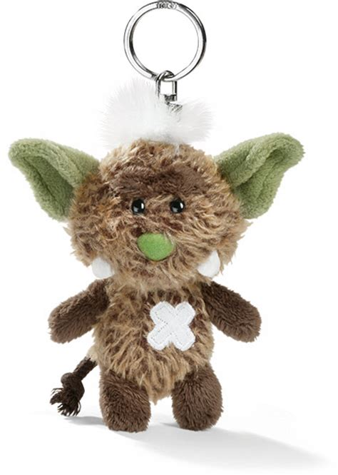 Monsta Brown nici keyring plushpaws co uk