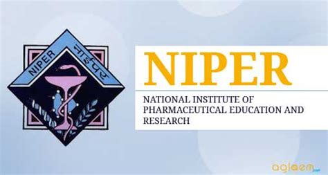 Niper Mba Pharm Syllabus by Niper Phd Joint Admission Test 2018 Aglasem Admission