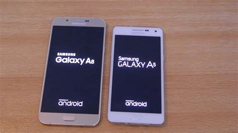 samsung galaxy a8 vs galaxy a5 speed test hd