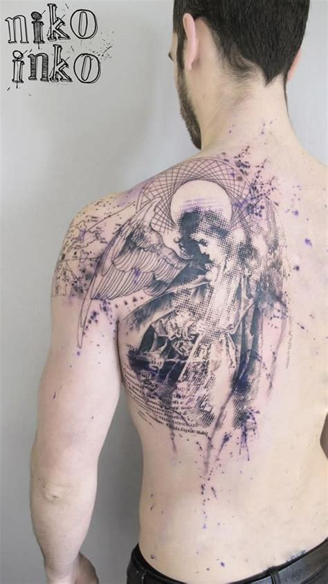 tattoo leaking ink 8 best niko inko images on tatoos