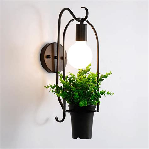 Decorative Wall Sconces For Plants Aliexpress Com Buy Modern Wall Lamp Plant Decor Wall
