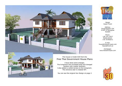 house design pictures thailand free government house plans home deco plans