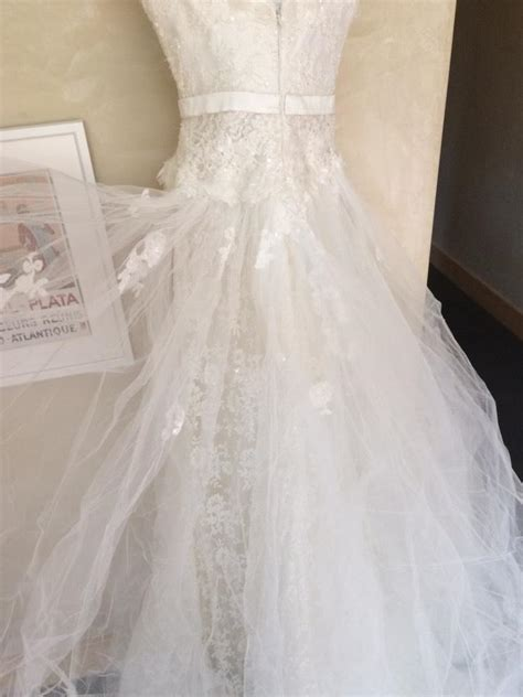 Wedding Dresses Size 4 by Elie Saab Ivory Wedding Dress Size 4 S Tradesy