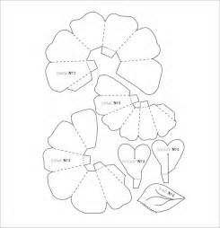 Flower With Petals Template by Flower Petal Template 9 Documents In Pdf Psd