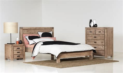 My Bedroom And More Nunawading Bermuda King Size Timber Bed Bedshed