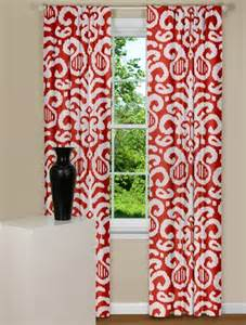 Patterned Kitchen Curtains Modern Curtains Fergana Ikat