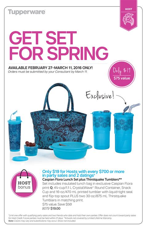 Tupperware Summer Collection get set for thank to tupperware caroline schoofs