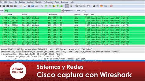 tutorial wireshark para monitoramento de rede informatica redes 007 cisco ccna captura trafico con
