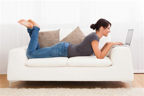laying on the couch sitting exercises avoid the harmful effects of sitting