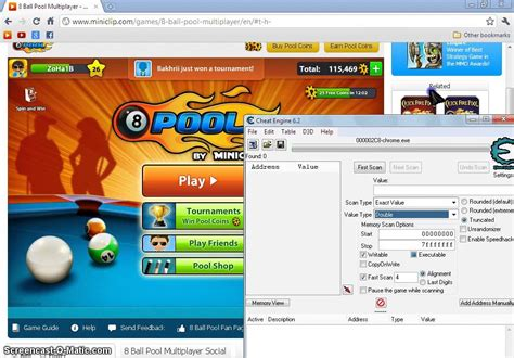 Coin 8 Pool 8 pool coins hack with engine 6 2