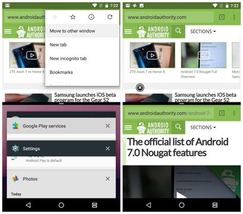 vii android android 7 0 nougat review features updates and changes