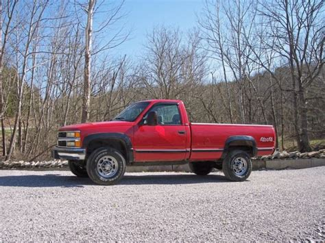 1995 chevy 2500 4x4 single cab bed loaded with cold a