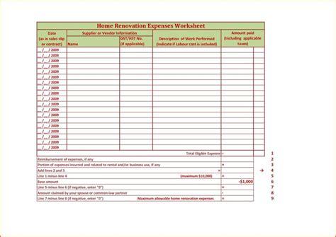 Renovation Excel Spreadsheet Template Renovation Spreadsheet Template Spreadsheet Templates For Renovation Spreadsheet Template Free