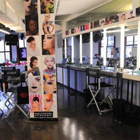 Makeover Makeup Academy attending class at the make up for academy in nyc and the feast