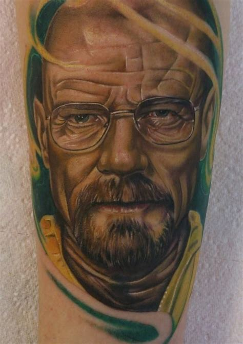 bryan cranston breaking bad tattoo tattoos pinterest