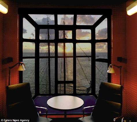 the crane room harbour crane hotel in harlingen yourself up in this accommodation daily mail