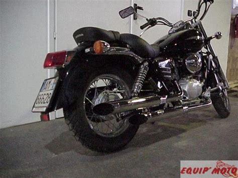 pot echappement moto custom silvertail k02 honda vt 125 shadow echap moto