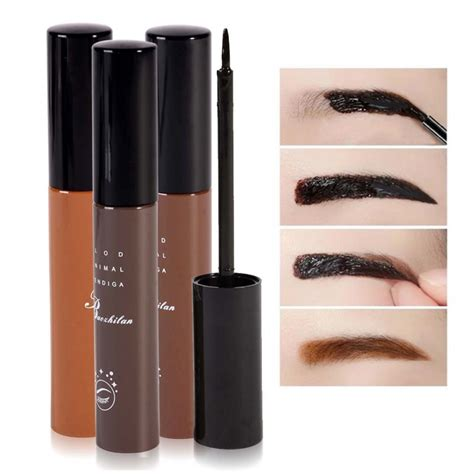 Promo New Xixiu Brow 4 Warna Mascara Alis Xi Xiu Color My Brows best price makeup cosmetics 3 colors waterproof dye eyebrow mascara eye brow gel make up