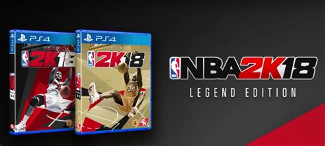 Nba 2k18 Legend Edition Ps4 Murah nba 2k18 et ses legend edition annonc 233 s sur ps4 one switch et pc jvfrance