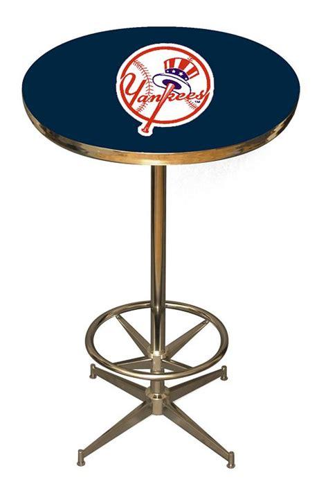 New York Yankees Bar Stool by New York Yankees Pub Table New York Yankees Pub Table